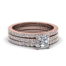 gold wedding rings sets princess cut diamond channel set engagement ring with blue