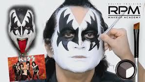 halloween makeup stencils gene simmons kiss makeup stencil mugeek vidalondon