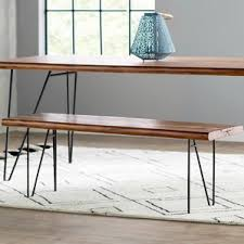 Modern Bench Dining Table Modern U0026 Contemporary Benches Allmodern
