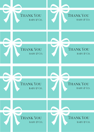 tiffany free thank you cards baby shower ideas themes games
