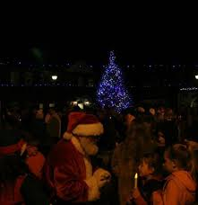 marsh mill christmas lights switch on 2017