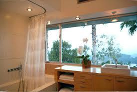half curtain rods shower curtain ideas bathtub shower curtain
