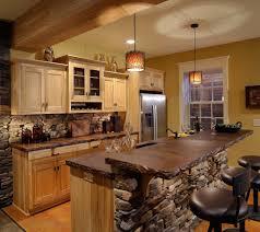 chinese kitchen rock island rustic kitchen ideas inside wall rock ideas also dark brown