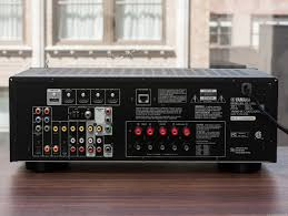 best home theater audio receiver yamaha rx v473 review cnet
