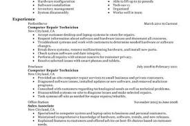 Computer Technician Resume Template Office Skill List Resume Cover Letter Opening Sentence 2017 What