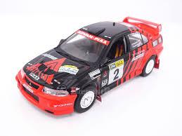 mitsubishi race car ixo ram514 1 43 mitsubishi lancer evo vi no 2 rally of canberra 1999 s