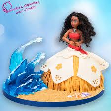 doll cake how to make a stunning moana doll cake
