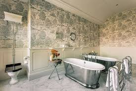English Bathroom Patterned Bathroom Schemes The English Home