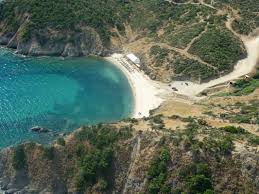 goa beach halkidiki in greece 2km south from sarti there is a