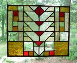prairie style stained glass windows for your prairie home