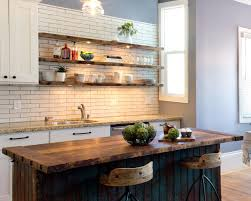 kitchen cool rustic kitchen open shelving walnut cabinets barn