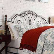 King Headboard And Frame King Beds U0026 Headboards Bedroom Furniture The Home Depot