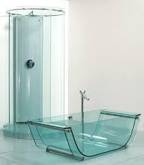 bathroom glass home design ideas tulip glass tub