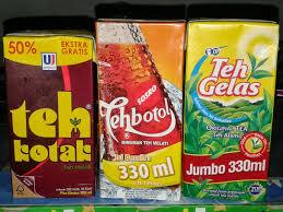 Teh Botol Sosro Kotak 1 Dus teh botol kotak 1 liter sosro teh botol kotak tpk 1l klikindomaret
