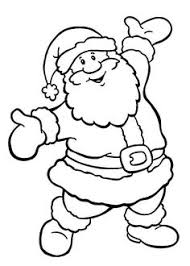 santa claus gifts christmas coloring pages coloring