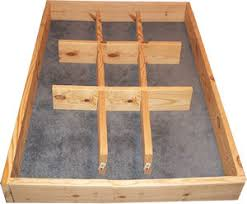 Water Bed Frames Pedestal Riser Build A Waterbed Frame Free Plans And Directions
