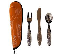3 piece kid u0027s myplate cutlery set w case u2013 fresh baby