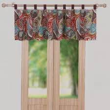 bay window curtains valances wayfair