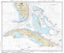 Map Of Mexico Coast by Modern Nautical Maps Of Florida 1 400 000 Scale Nautical Charts