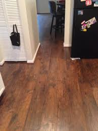 style selections 4 84 in w x 3 93 ft l almond hickory handscraped
