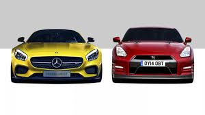 nissan gtr vs tesla merc amg gt vs nissan gt r fight top gear