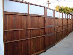 Outdoor Fence Decor Ideas by Accessories Fancy Home Decorating Exterior Plan With Plexi Glass