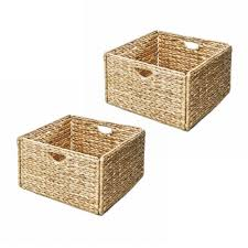 Decorative Baskets & Boxes Decorative Storage The Home Depot