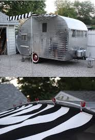California Awning Rail Add An Awning Without A Rail Http Littlevintagetrailer Com 2012