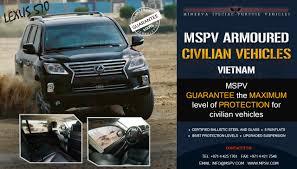 lexus lx570 vietnam armoured vehicles vietnam bulletproof cars vietnam cash in transit