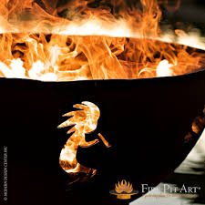 kokopelli fire pit art metropolitandecor