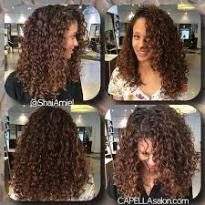 light brown curly hair what s the difference between ombre and balayage hair color