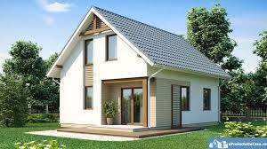 100 sq meters house design proiecte de case cu mansarda sub 100 de metri patrati attic houses