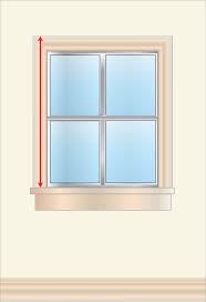 how to measure for curtains drapes u0026 other window coverings