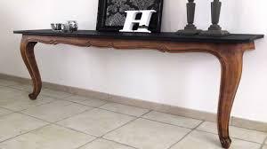 table console pour cuisine fabriquer une console sympa avec une vieille table diy déco cool