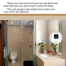 hidden spy camera in bathroom