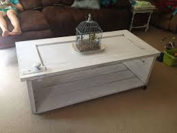 old door turned into a coffee table my completed projects vintage