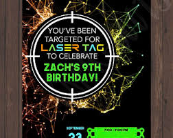 laser tag stickers laser tag birthday party laser tag favor