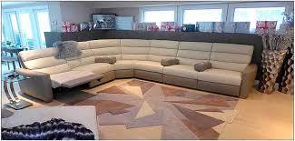 Sectional Recliner Sofa With Cup Holders Leather Furniture Schillig Furniture Contemporary Leather New
