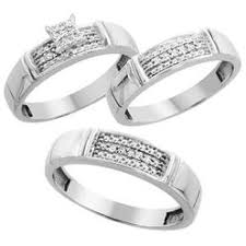 Wedding Ring Sets For Her by Sabrina Silver Rings Diamond Sears