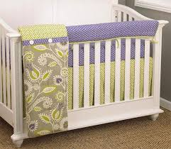 Crib Bedding Set With Bumper N Selby Designs Periwinkle 4 Piece Crib Bedding Set Without Bumper