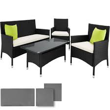tavoli da giardino rattan set da giardino in alluminio e rattan 2 sedie 1 panca 1