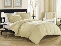 Down Alternative Comforter Sets Khaki Down Alternative Comforter Set