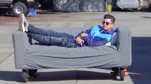 amazing motorized sofa youtube