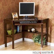 Corner Desk Shelves by Holly U0026 Martin Alexander Corner Computer Desk