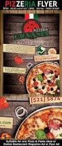 pizzeria italian restaurant ad flyer template pasta shop flyer