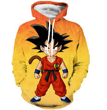 aliexpress buy cool kid goku 3d hoodies dragon ball super