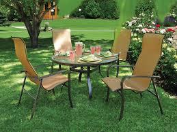 Homecrest Holly Hill by Homecrest Kashton Sling Aluminum Arm Dining Chair 1k379