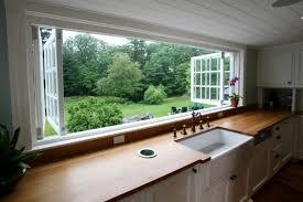 Kitchen Window Design Large Kitchen Window Home Design Garden Architecture