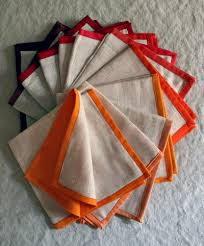 festive fall thanksgiving napkins allfreesewing