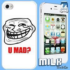 Phone Case Meme - brand new iphone 4 and 4s meme phone case cover troll face u